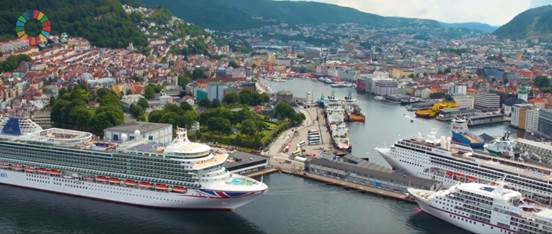 Electrifying the Cruise Industry with Europe's Largest Shore Power Facility in Norway